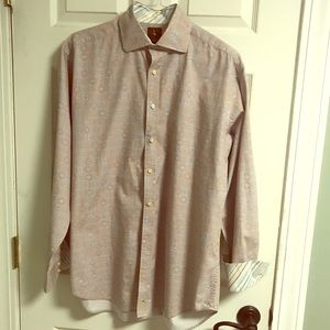 Tailorbyrd casual button down shirt men's size XL